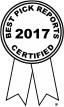 2017 Best Pick Reports Certified