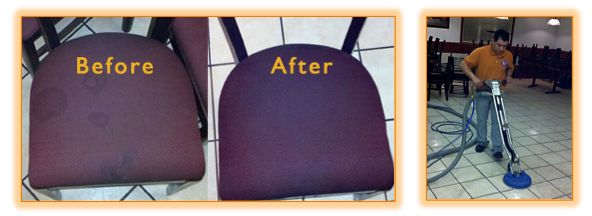 Restaurant Carpet Tile and Upholstery Cleaning