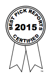 Best Pick Reports 2015 Award for Smart Choice Cleaning